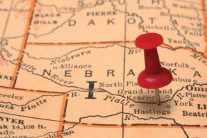 central nebraska map